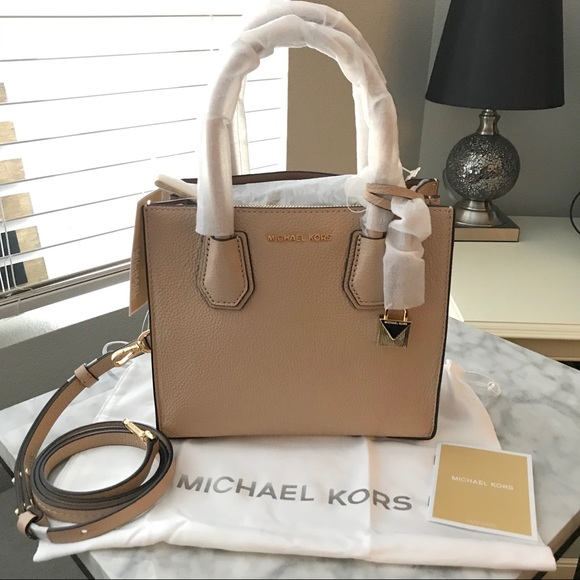 2e094d5906f8 MICHAEL Michael Kors Bags | Michael Kors Mercer Leather Crossbody ...